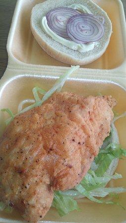 Best Fast food takeaway in Rochdale. Pulled lamb burger and BBQ lamb ribs