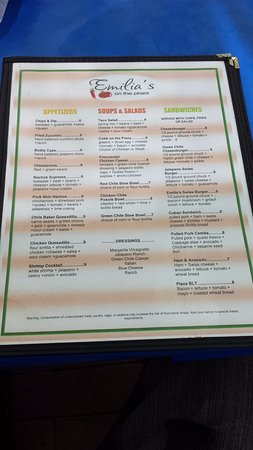 Mesilla, NM: An Amazing Menu & Even More Amazing Food!
