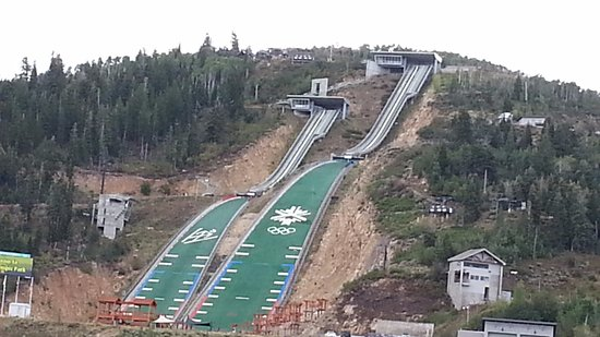 Wasatch Mountains: Olympic Ski Slopes and training for Olympics, Park City, UT