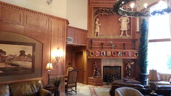 Wasatch Mountains: Inside the Lobby of the Zermatt Hotel, Wasatch Mountain, Midway, UT