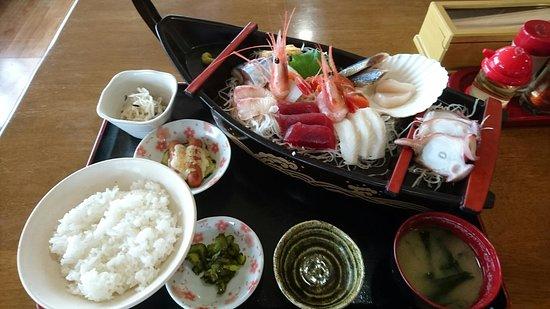 Yakumo-cho, Japón: 刺身定食