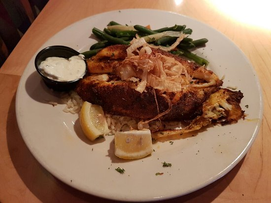 Ginopolis Restaurant: Catfish Dinner