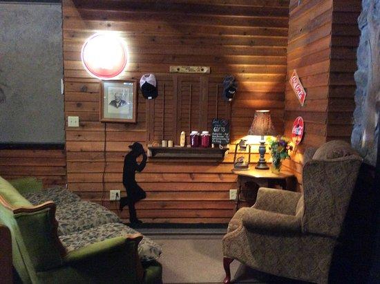 Hamilton, MT: Comfy decor