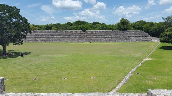 Campeche, México: public stand