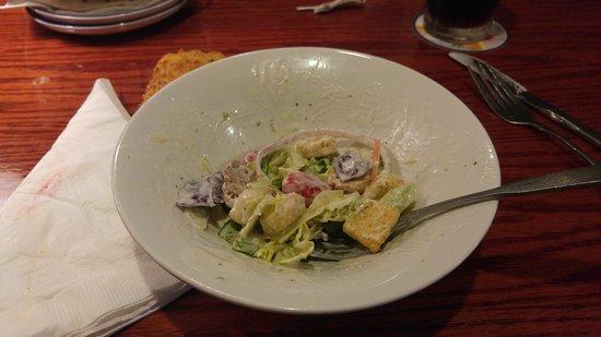 Williamsville, Nowy Jork: salad (small!)