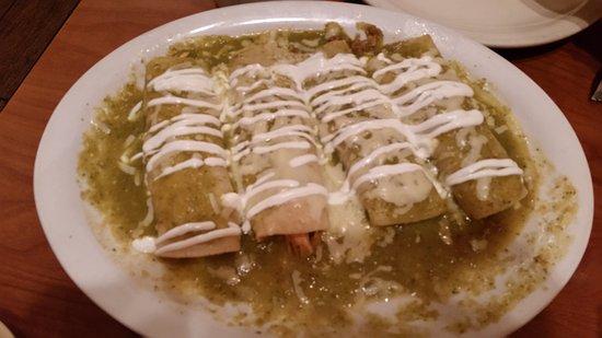 Platteville, Wisconsin: Enchiladas Suisas