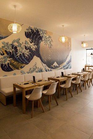 Noisy-le-Grand, Francia: vague hokusai