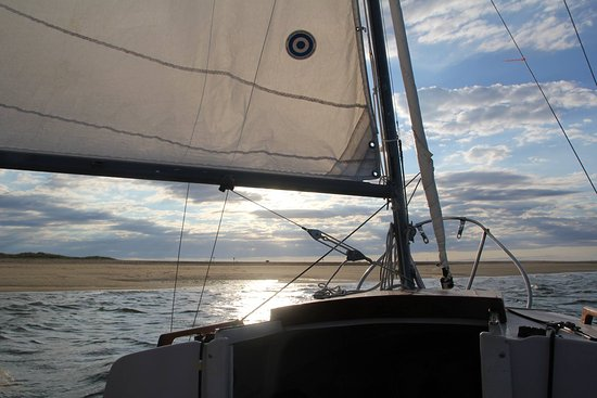 Wellfleet, MA: Jeremy Point under sail (pun intended)