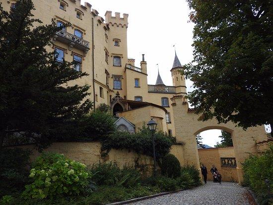 Schloss Hohenschwangau: Lateral del Castillo