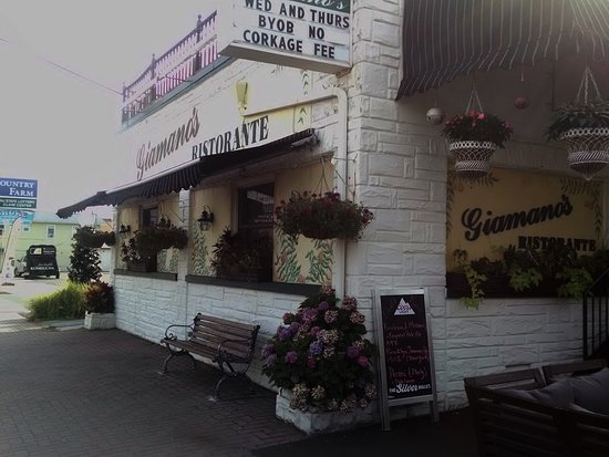 Bradley Beach, NJ: Giamano's Front view Building