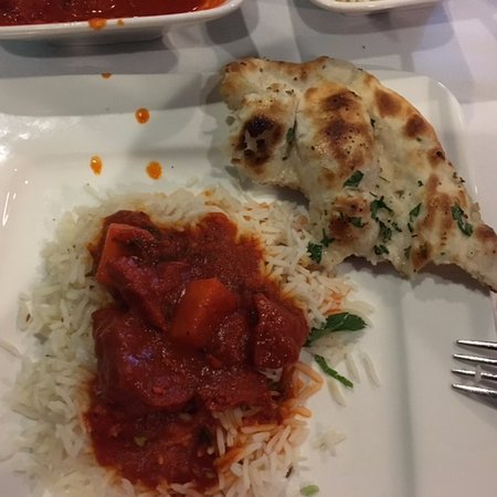Dublin, OH: vindaloo and naan