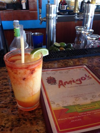 Amigos de Maui : The most refreshing Lilikoi Marguerita on Maui. Good food and good value. Always clean . Great s