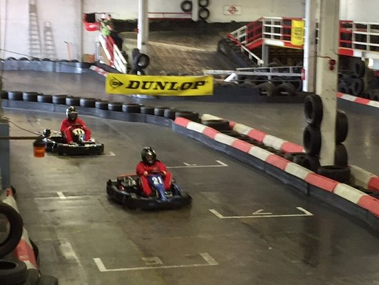 Corby, UK: Great karting experience