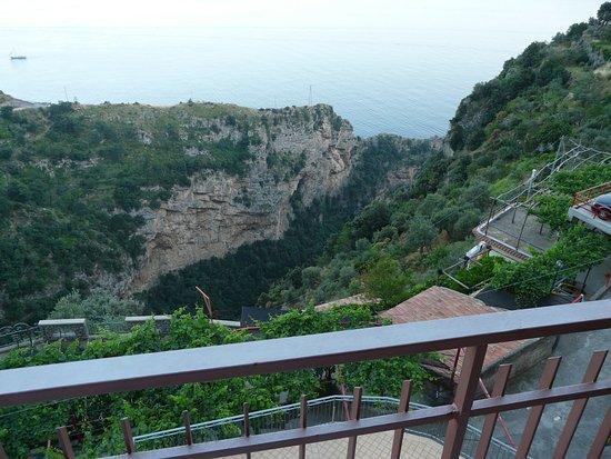 Locanda Ripa delle Janare: El fiordo desde el balcón de la habitación