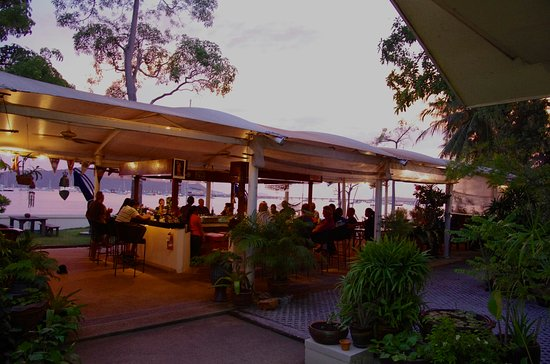 Ao Chalong Yacht Club Restaurant : Great Sunsets .