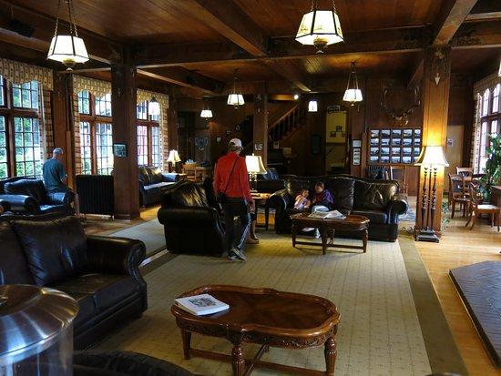 Quinault, Waszyngton: Lobby principal