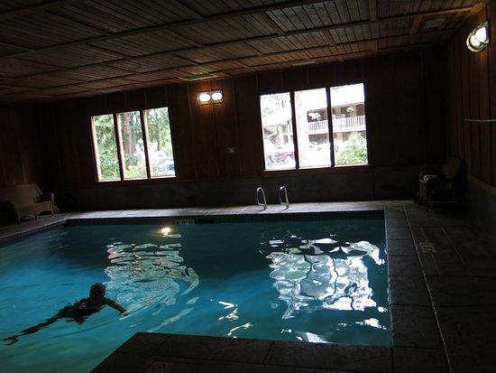 Quinault, Waszyngton: Alberca interior