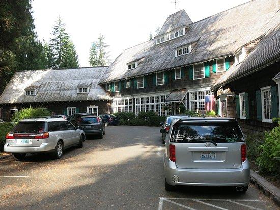 Quinault, WA: Entrada principal