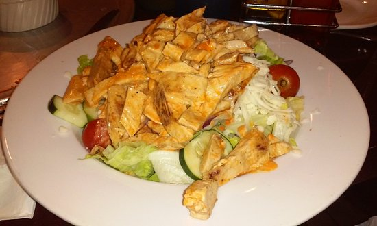 Pennsville, Нью-Джерси: Buffalo chicken salad