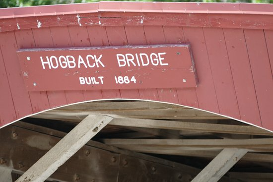 Winterset, IA: Hogback Bridge - Built 1884