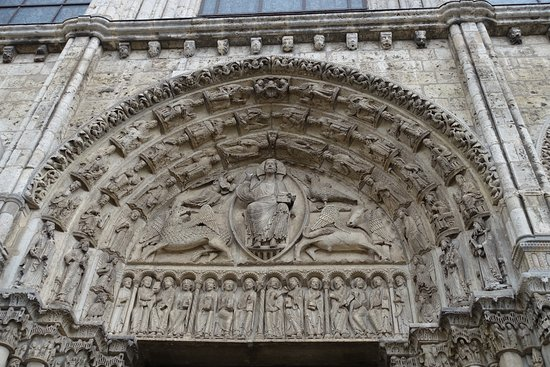 Chartres Cathedral: Tympanus of the Royal Porch