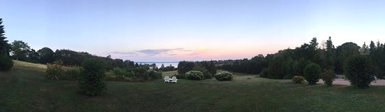 Chester, Canada: Panoramic view of the properly from the home.