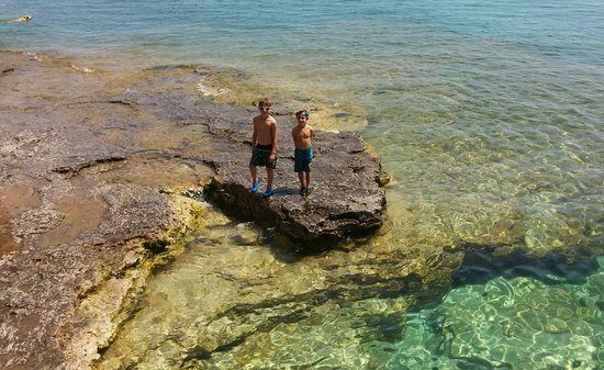 Sturgeon Bay, WI: Gorgeous clear water