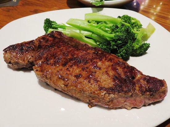 Аркадия, Калифорния: 12oz NY Strip at Outback Steakhouse Arcadia, CA (25/Jul/16).