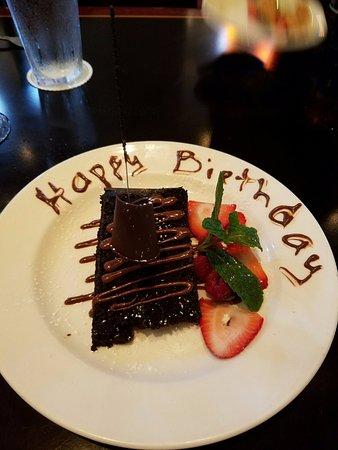 BJs Restaurant Brewhouse Birthday Cake