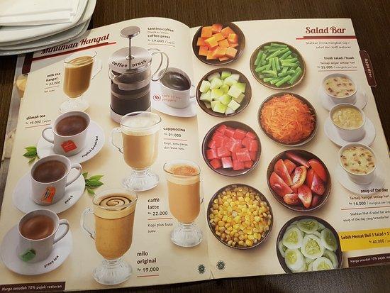 Coffe and Salad - Picture of Pizza Hut Padjajaran, Bogor - Tripadvisor