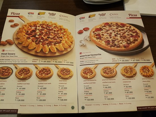 The Pizza Picture Of Pizza Hut Padjajaran Bogor Tripadvisor
