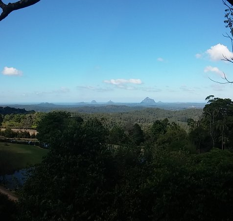Maleny, Австралия: view from gazebo while having scones