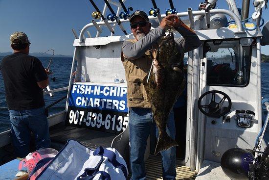 Kodiak, AK: 2 fish 1 reel
