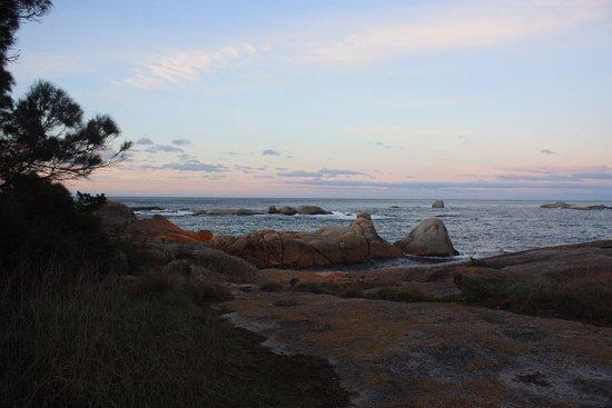 Bicheno, Australia: the beach