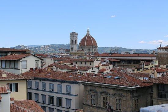 Antica Torre di Via Tornabuoni: View from terrace