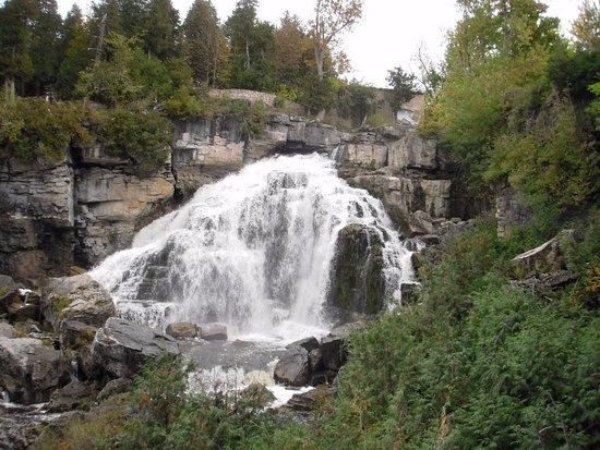 Owen Sound, Canada: Falls from below