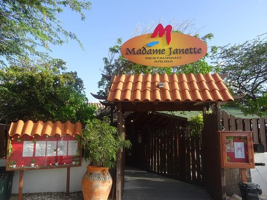 Photo of American Restaurant Madame Janette at Cunucu Abao 37, Palm - Eagle Beach, Aruba