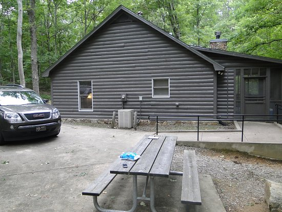 Porch from the yurt picture of cloudland canyon state park cabins cloudland canyon state park cabins picnic table right outside publicscrutiny Gallery