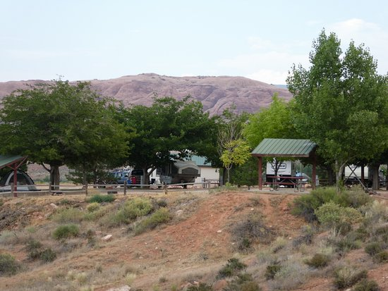 Moab Rim Campark: Campground view