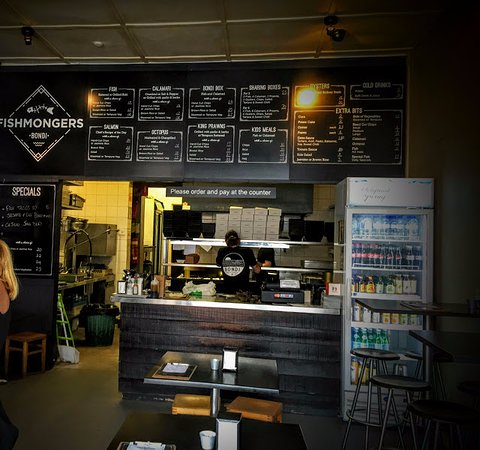 Бонди, Австралия: Ambiente descontraído e comida de qualidade
