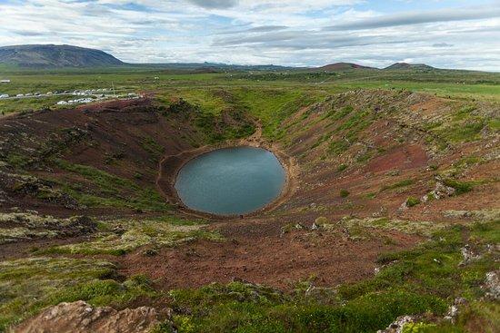 Selfoss, Island: Kerid Crater