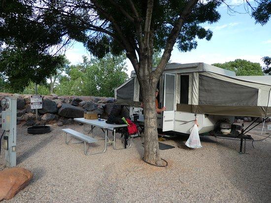 Virgin, Γιούτα: Our campsite