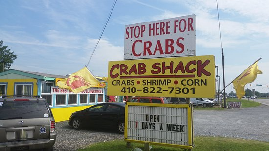 Crab Shack in Easton, Maryland