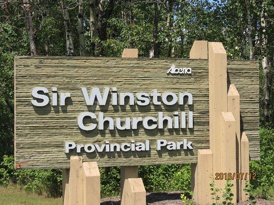 Lac La Biche, Canadá: Entrance sign