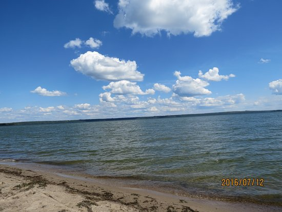 Lac La Biche, Canadá: Sat by the water for awhile