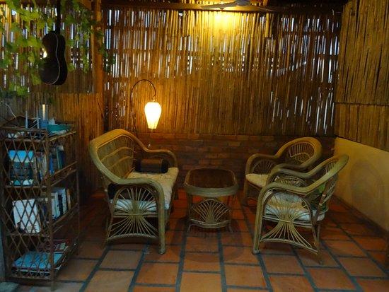 Kampong Thom, Camboya: Cozy seating