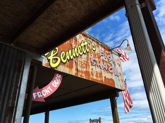 Westport, واشنطن: Bennett's Fish Shack