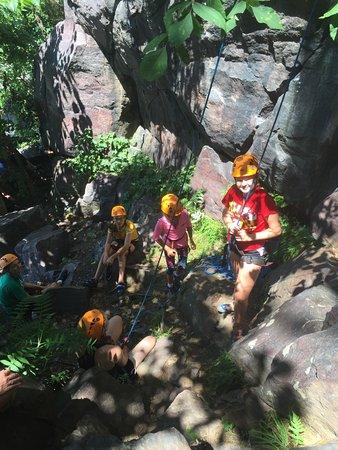 Baraboo, WI: Happy Climbers