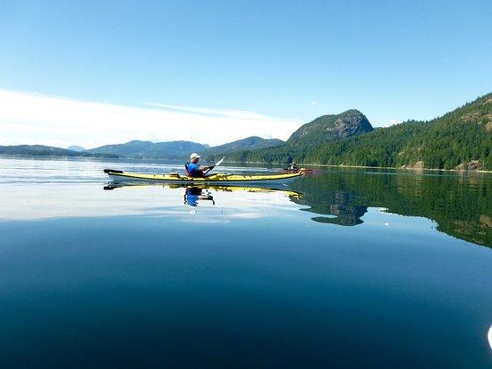 Heriot Bay, Kanada: kayaking