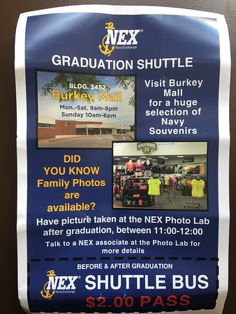 North Chicago, IL: NEX Shuttle Bus Flyer & Information
